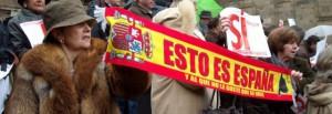 Foto 5. Imaxe da Manifestación Galicia bilingüe, febreiro 2009