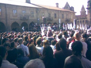 Foto 1. Manifestación Queremos Galego 18, 10, 2009 (2)